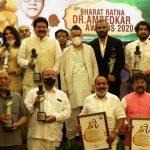 Suniel Shetty, Sonu Nigam, Richa Chadda and others received Bharat Ratna Dr. Ambedkar Award from Shri Bhagat Singh Koshyari