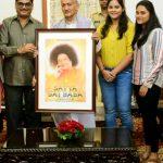 Maharashtra Governor Shri Bhagat Singh Koshyari unveils the poster of Satya Sai Baba film