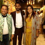 Anup Jalota and Ekta Jain visited Luxury Fashion Brand Bespokewala at Juhu